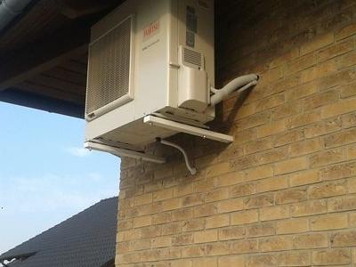 klimatyzacja na budynku